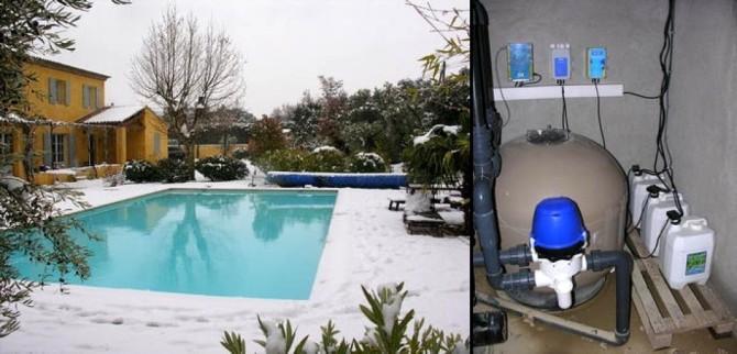 traitement eau de piscine